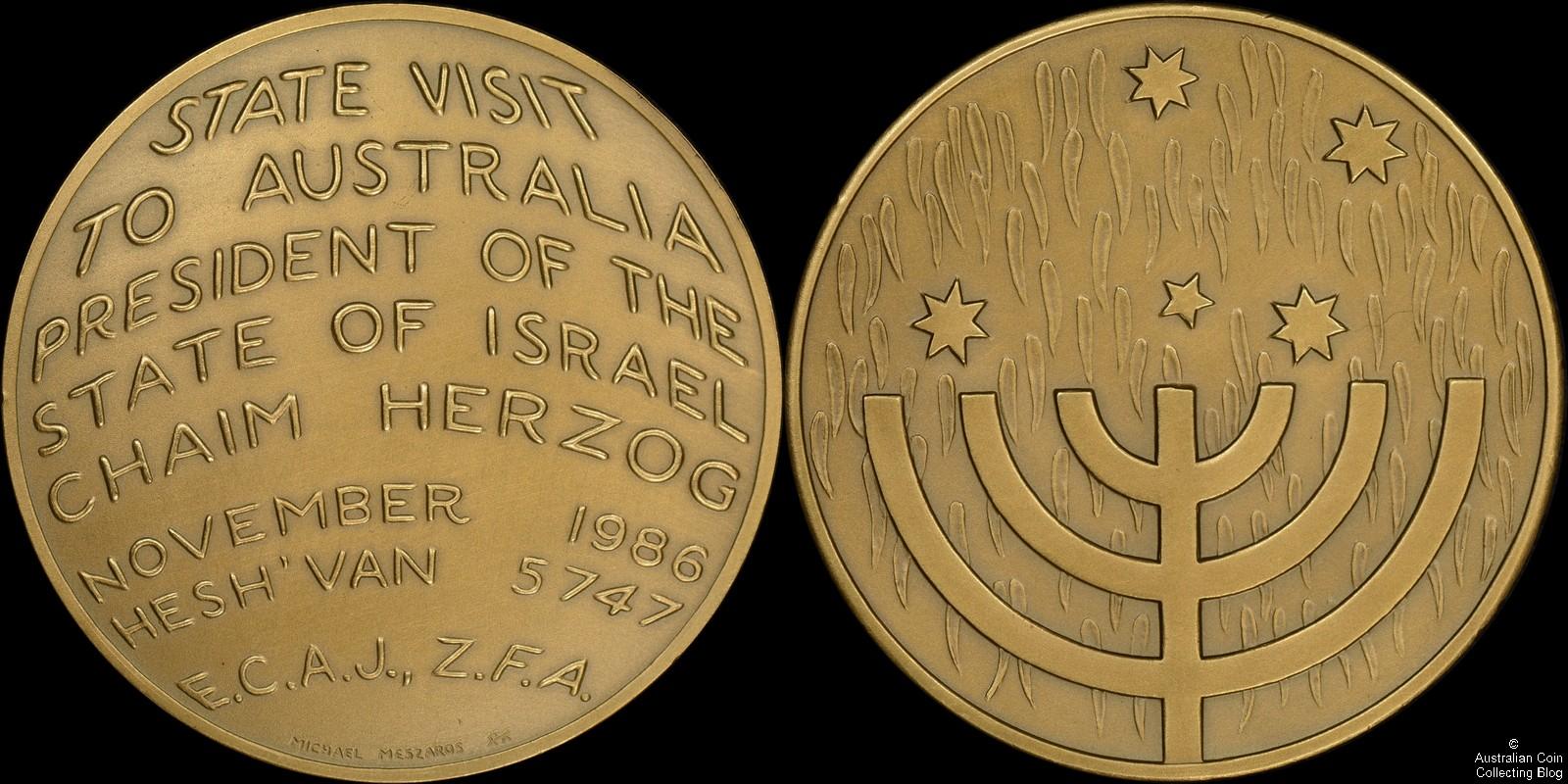 Michael Meszaros Medal 1986