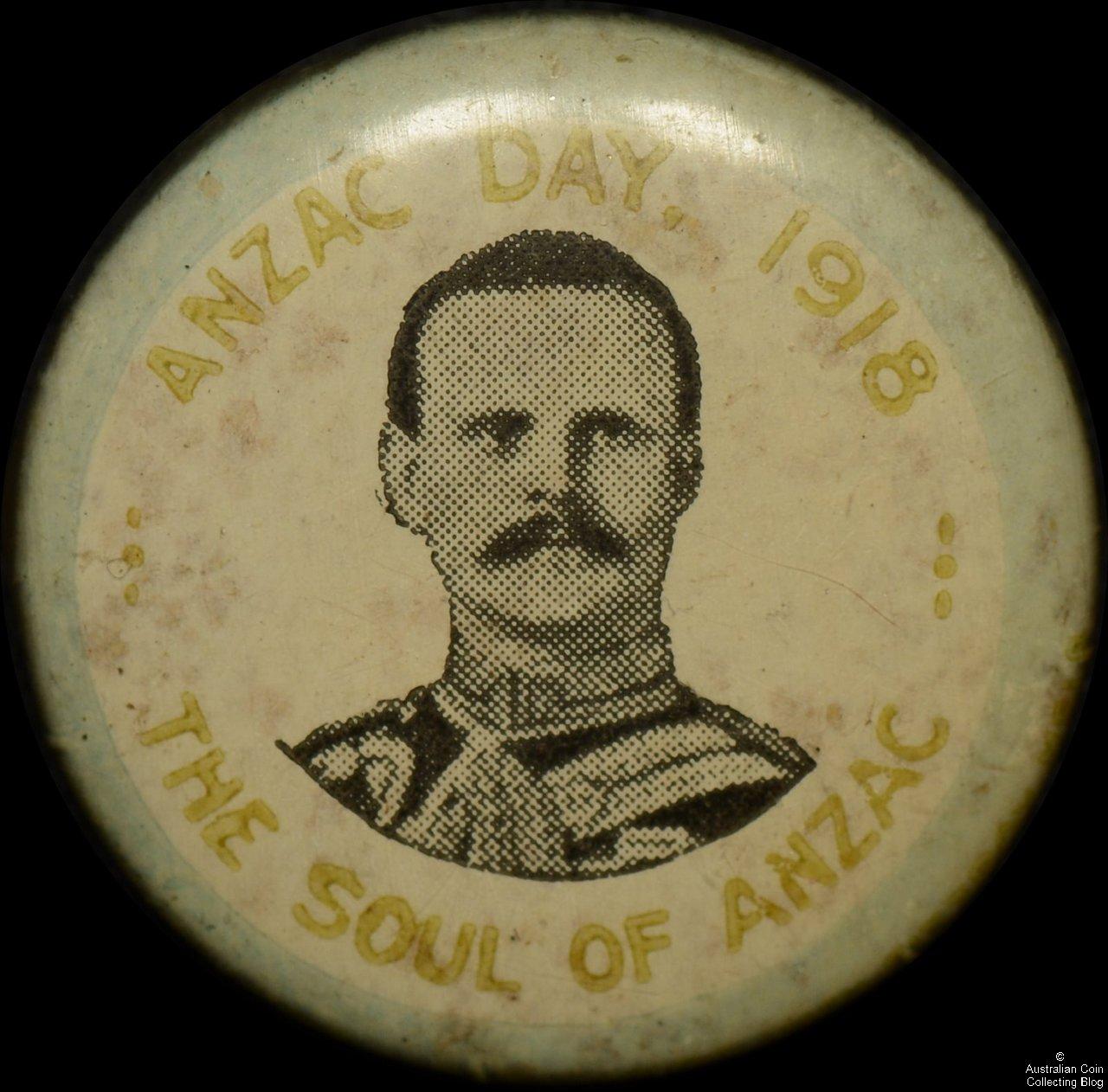 ANZAC Day The Soul of ANZAC Tin Badge