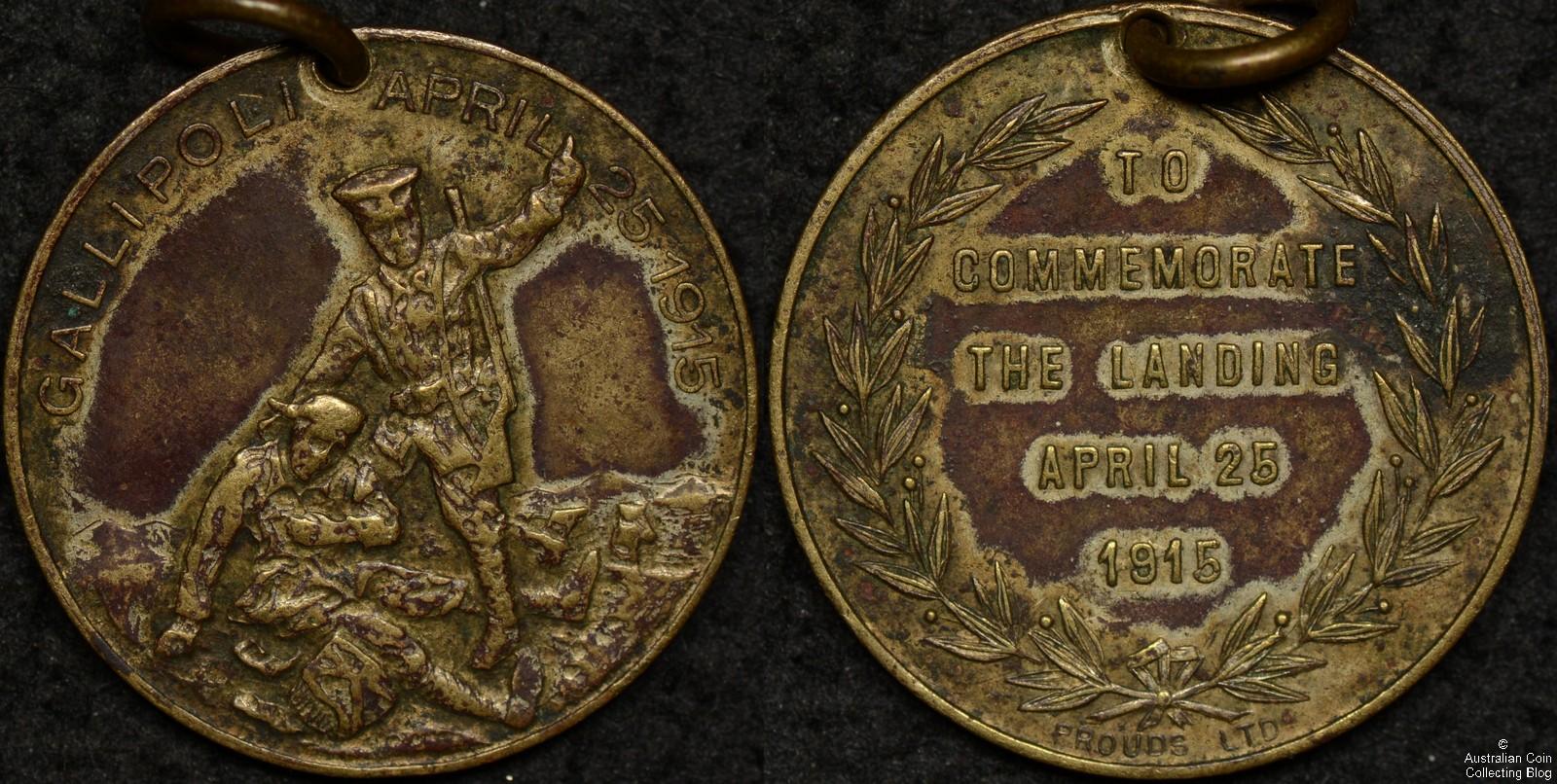 Australia 1915 To Commemorate the Landing Medallion